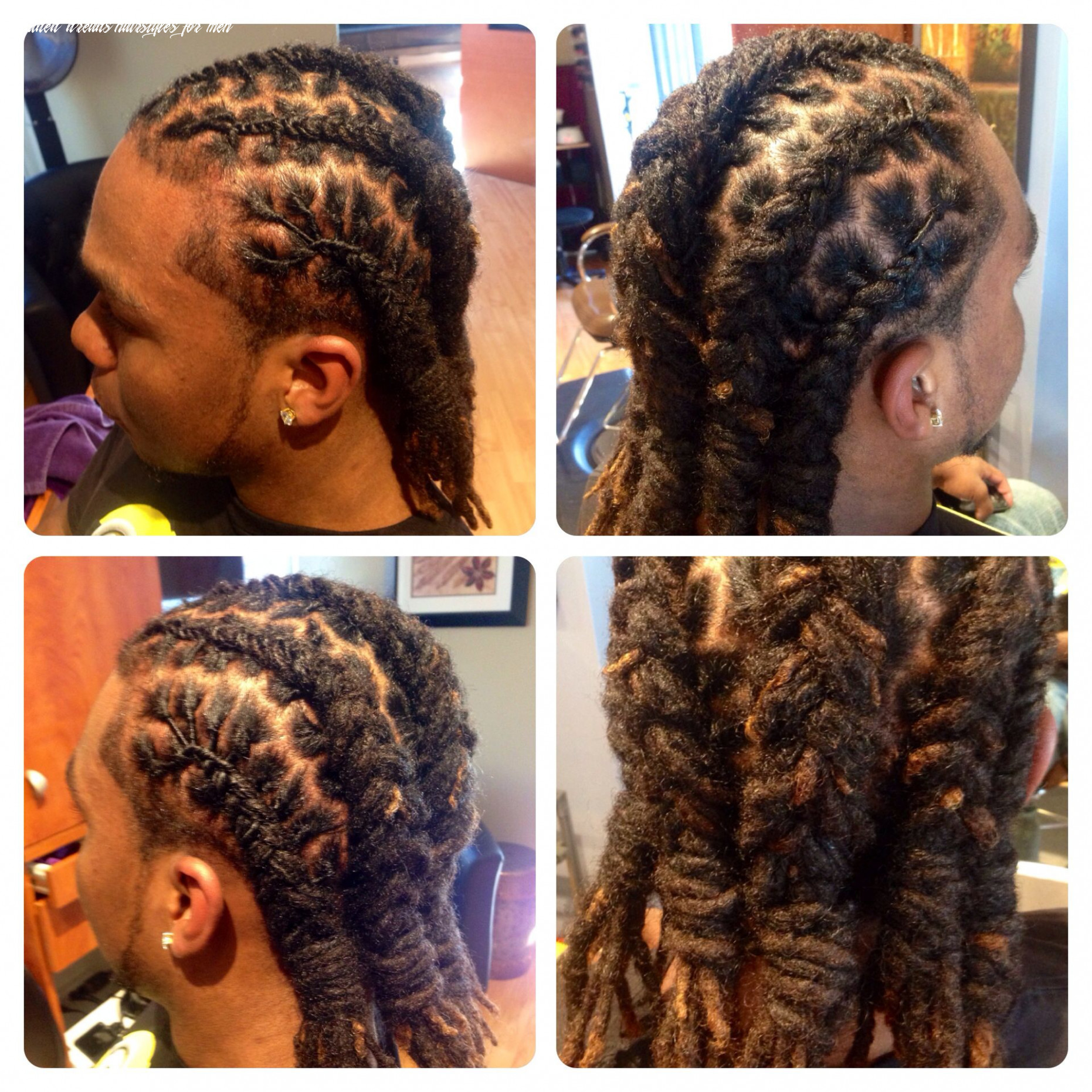 Loc styling for men | locs hairstyles, dread hairstyles, long hair