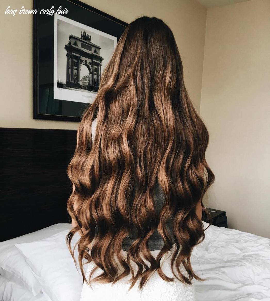 Long and wavy hair🥰 uploaded by brigitta király long brown curly hair