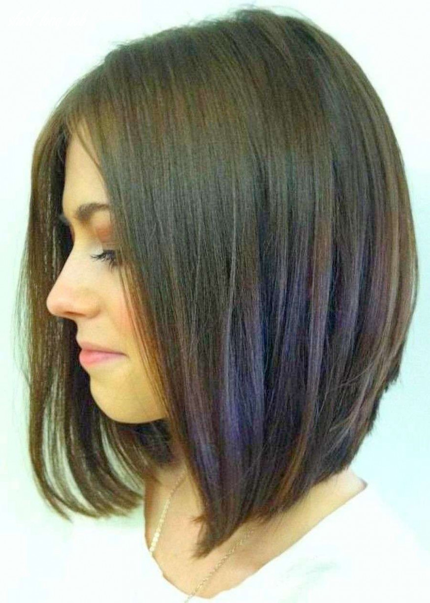 Long bob haircuts back view | frisuren, frisur ideen