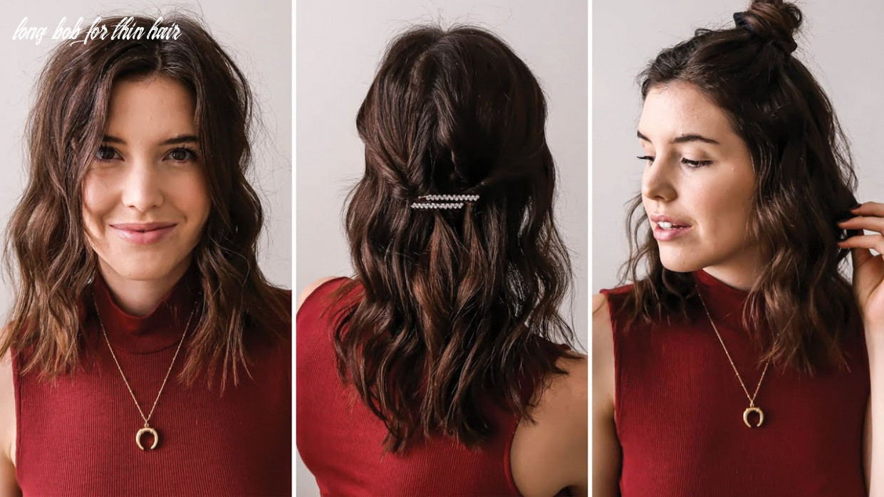 Long Bob Hairstyles for Fine and Thin Hair | by Erin Elizabeth