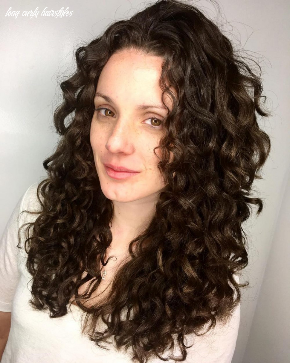 Long curly hairstyle long curly hairstyles