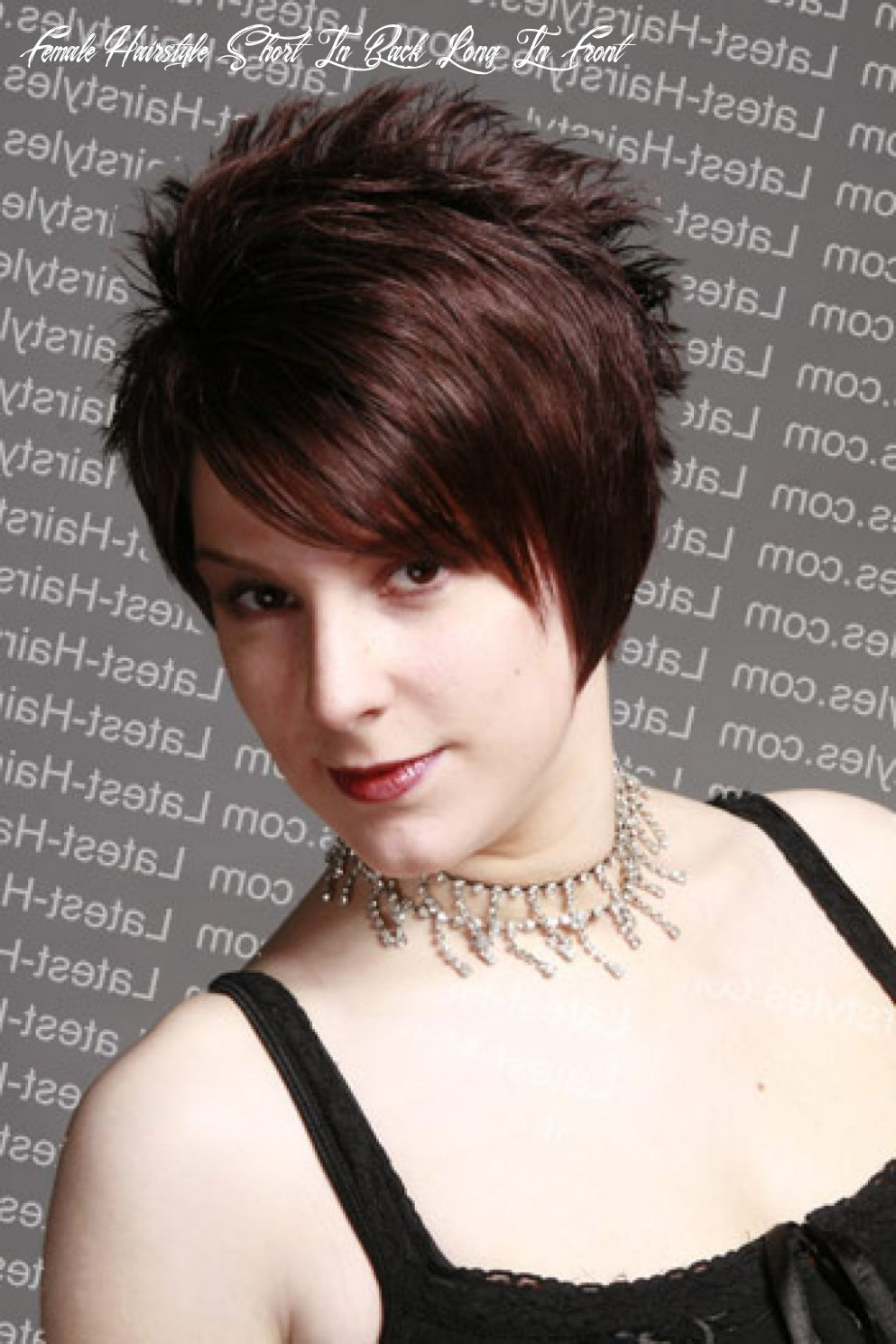 Long front short back haircut – new hairstyles   short spiky