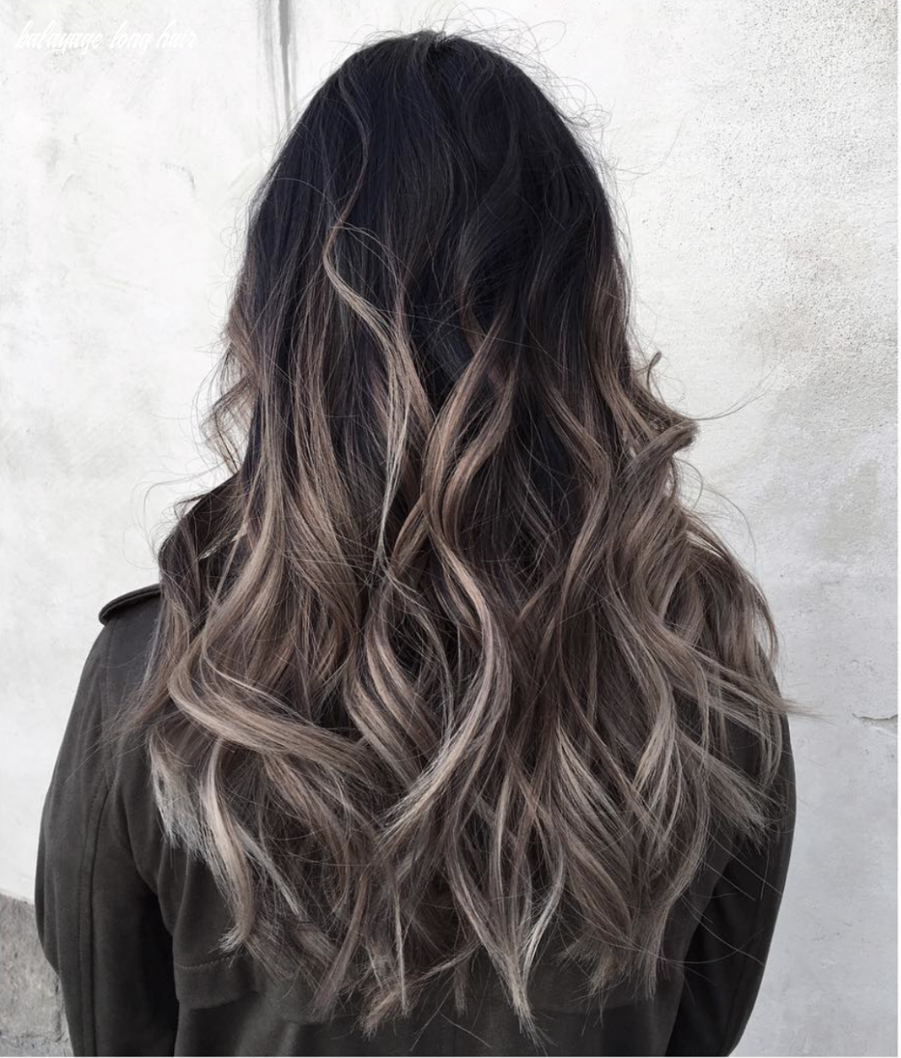 long hair balayage, ash hair, hair ideas and hair inspiration ...