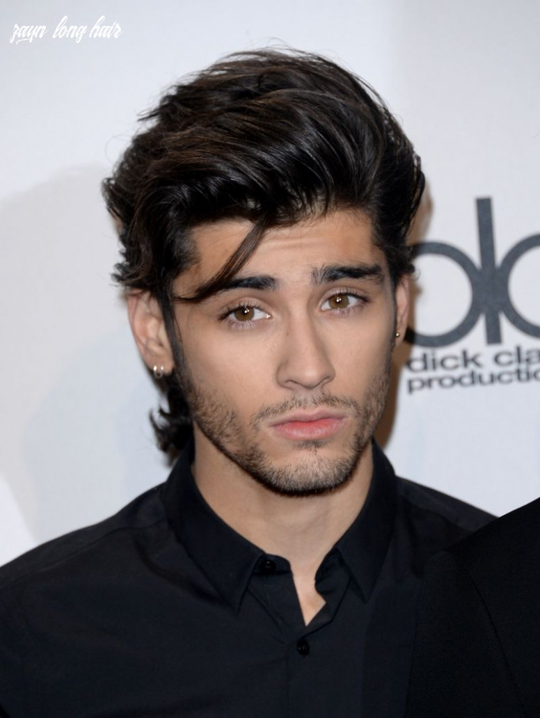 Long haired zayn malik is our new favorite thing mtv zayn long hair