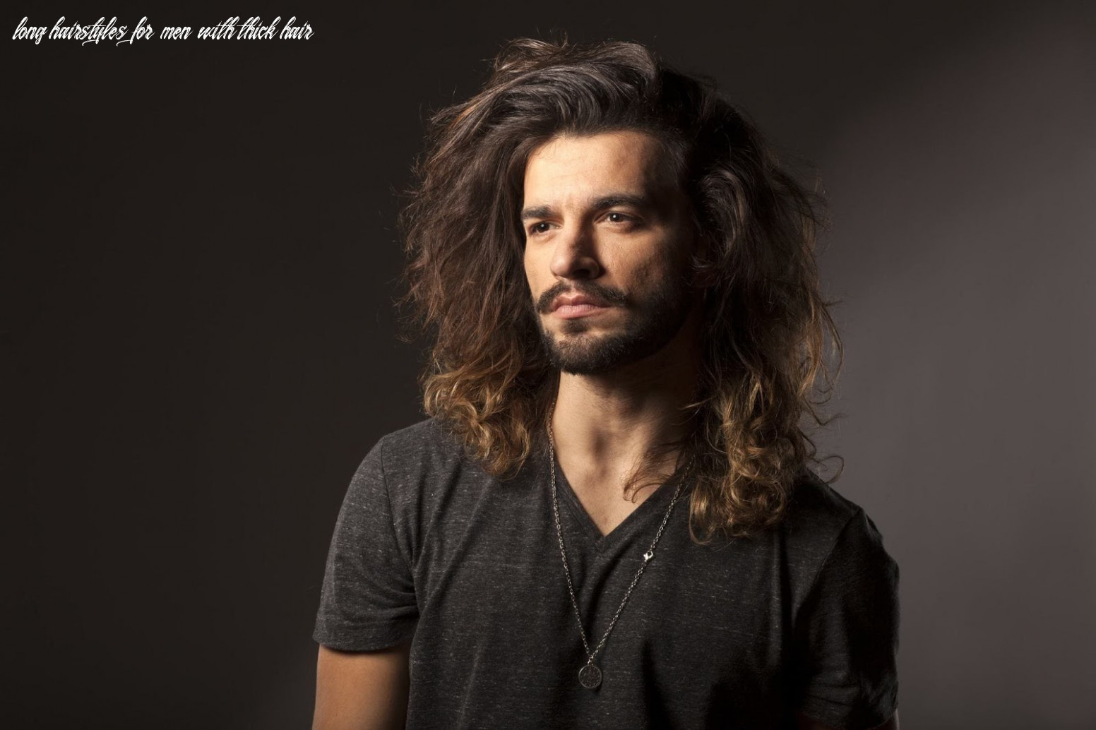 Long hairstyles for men & boys with thick hair kizifashion long hairstyles for men with thick hair
