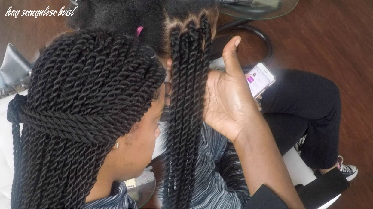 Long senegalese twist views from a living room stylist long senegalese twist