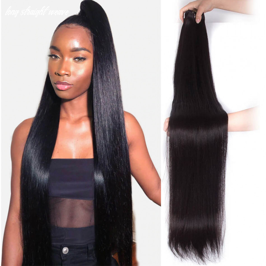 Long straight hair bundle 9 inch 9 inch 9 inch 9 inch 9 inch 9 inch virgin human straight hair 9 bundle sale long straight weave