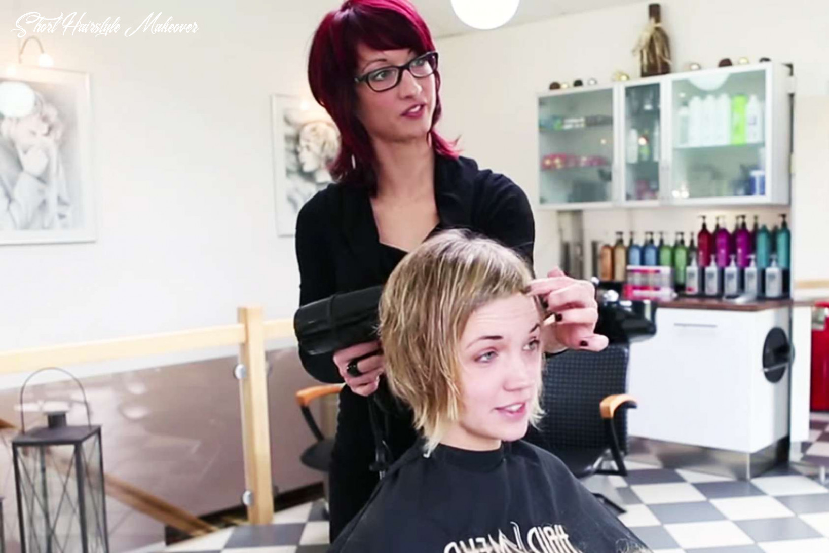 Long to short haircut makeover by anja herrig   fashion and women short hairstyle makeover