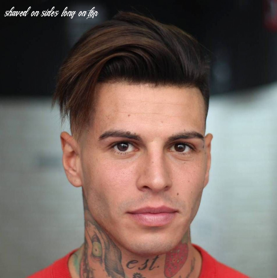 Long top shaved sides hairstyle for men | mens hairstyles medium