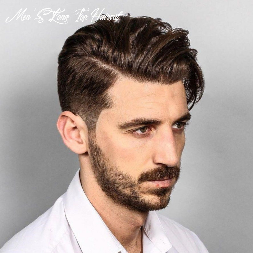 Long top taper haircut #toplonghairstyles   comb over haircut