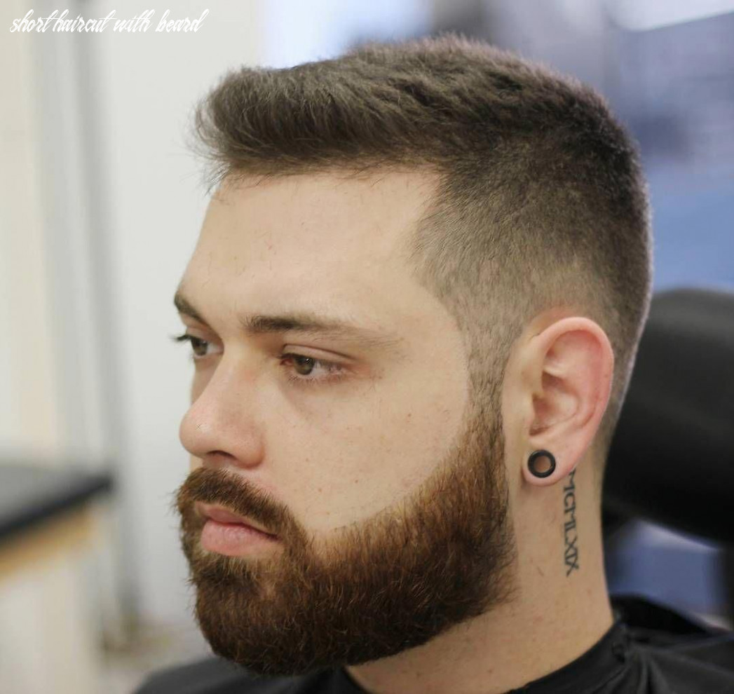 Look at this! #shorthairstylesformen | short hair with beard