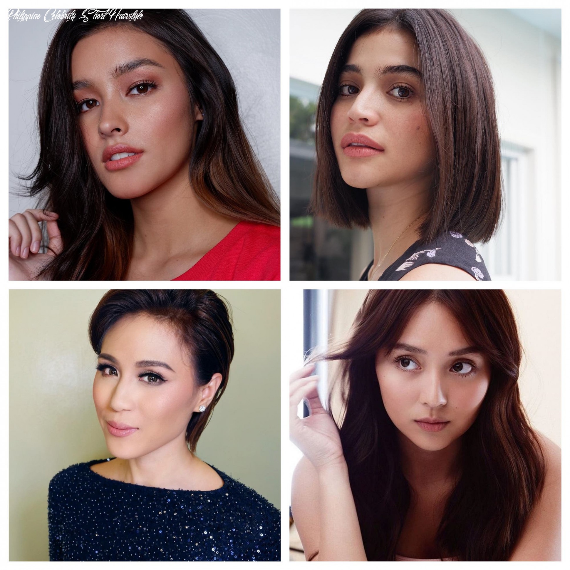 Look: here are 10 filipina celebrity hair pegs for every face