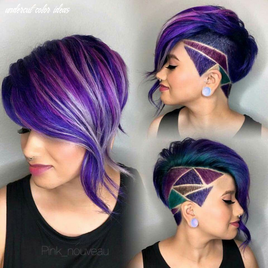 Loving the colors in this style | hair styles, short hair styles