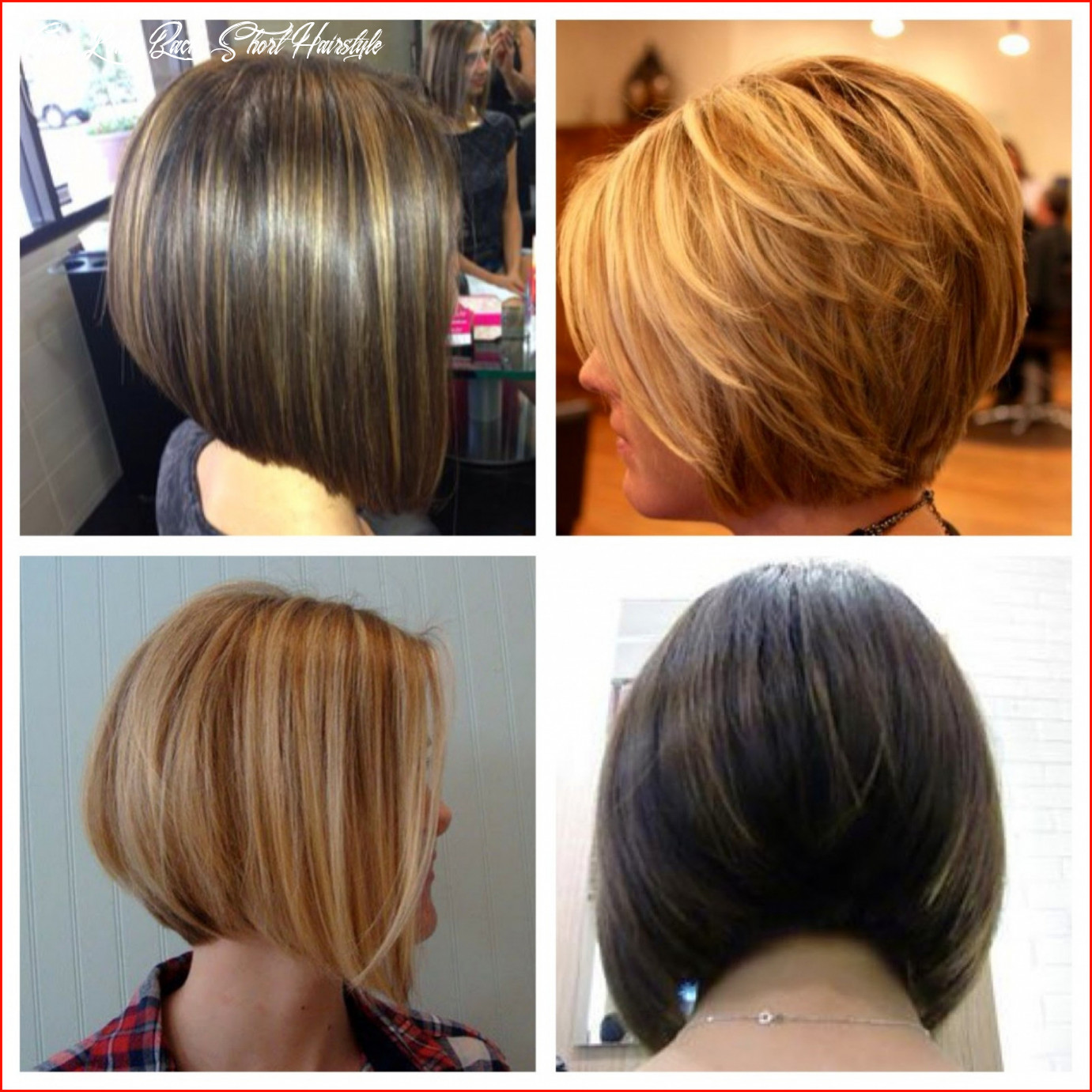 Luxury Front and Back Pictures Of Short Hairstyles Collection Of ...