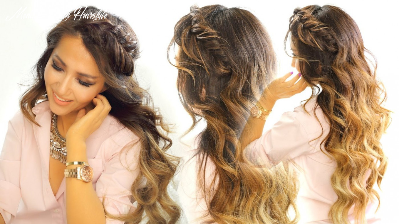 MakeupWearables - Quick & Easy School Hairstyle for Long Medium Hair