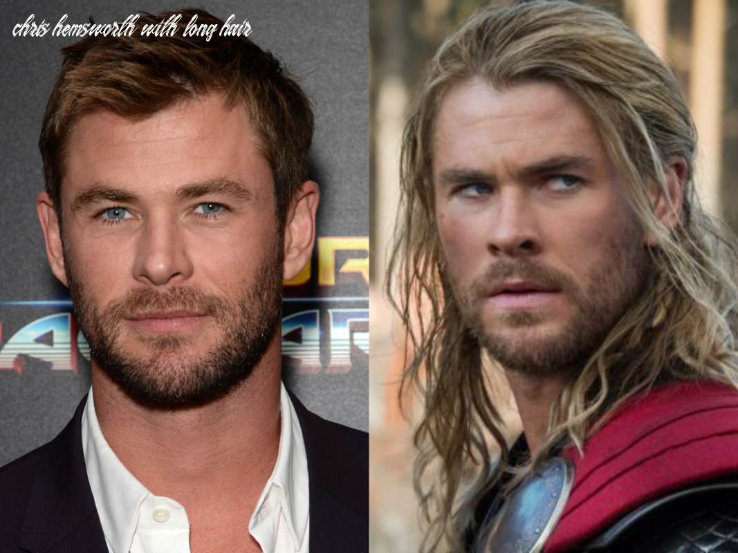 Male celebrities who look even better with long hair insider chris hemsworth with long hair