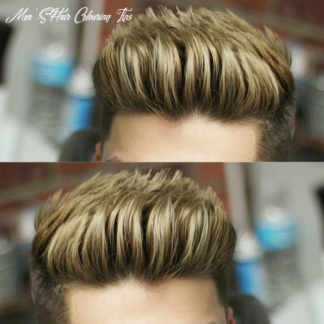 Male hair colors, male hair coloring tips, male hair color chart