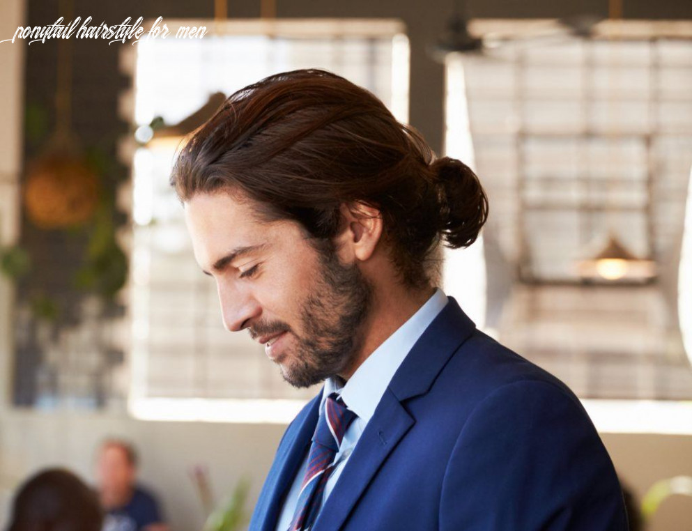 Man ponytail hairstyles in 10 that you can create at home ponytail hairstyle for men