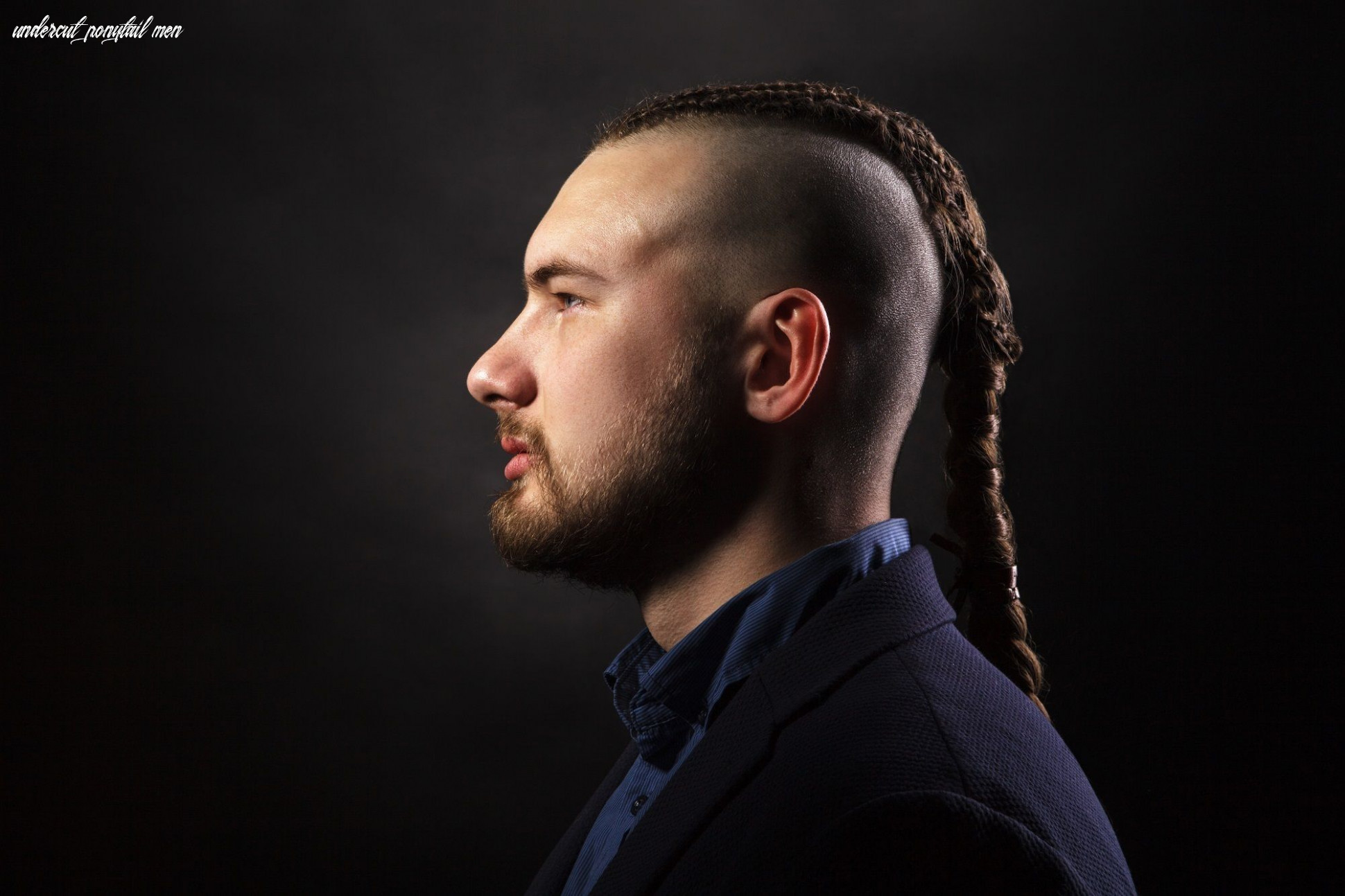 Man ponytail hairstyles in 12 that you can create at home undercut ponytail men