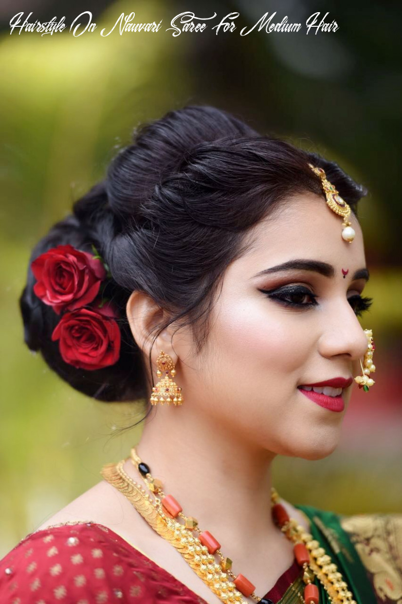 Marathi wedding makeup and hair by makeovers by sukanya www