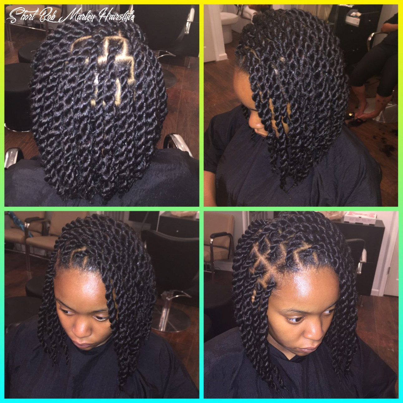 Marley twist bob with invisible root done by kryssy ! get these