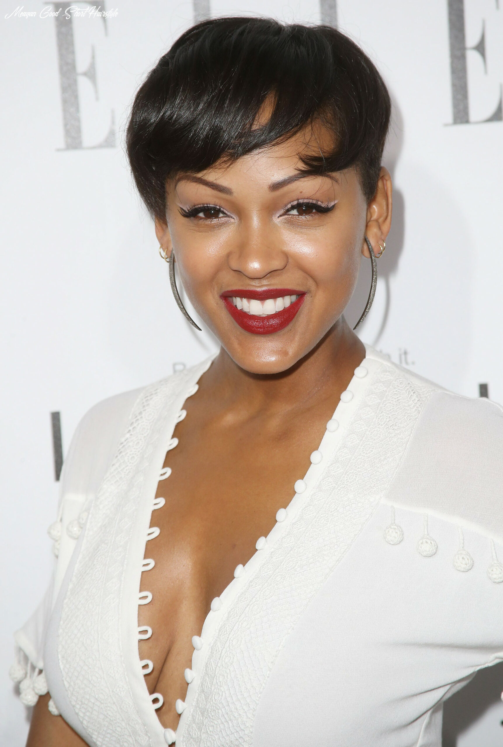 Meagan good with a pixie cut | 10 celebrity pixie haircuts that