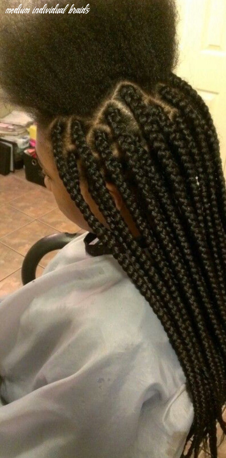 Medium box braids : $8 | natural hair styles, box braids