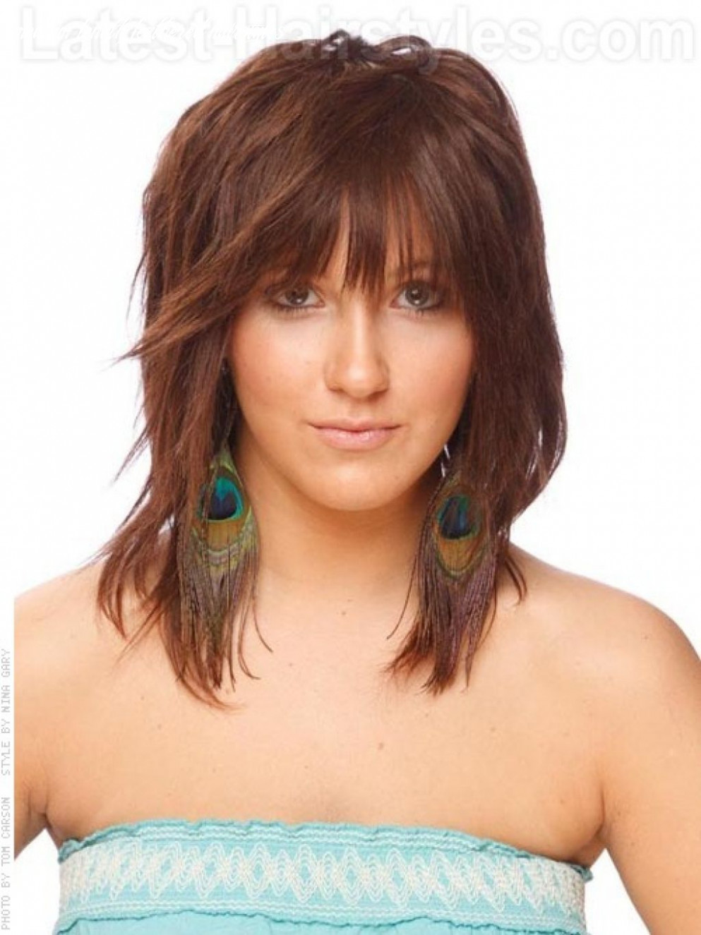 Medium feathered haircuts best feathered hairstyles for medium