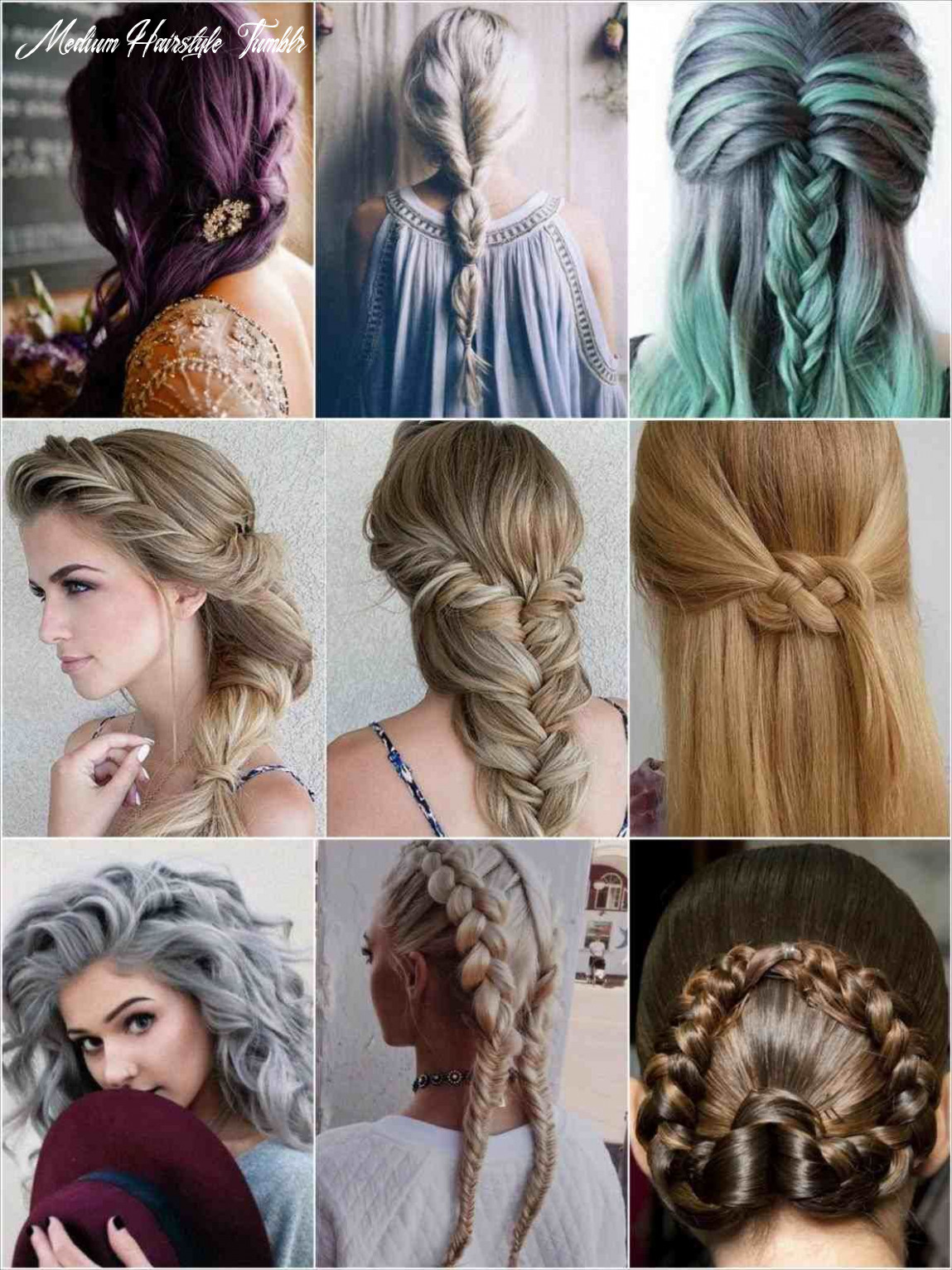 Medium hair hairstyles tumblr | medium hair styles, hair styles
