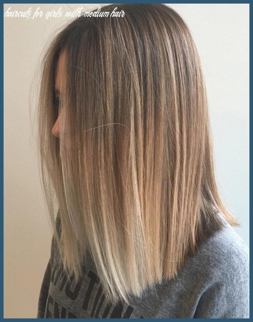 Medium haircuts for girls 9 latest hairstyles for girls with