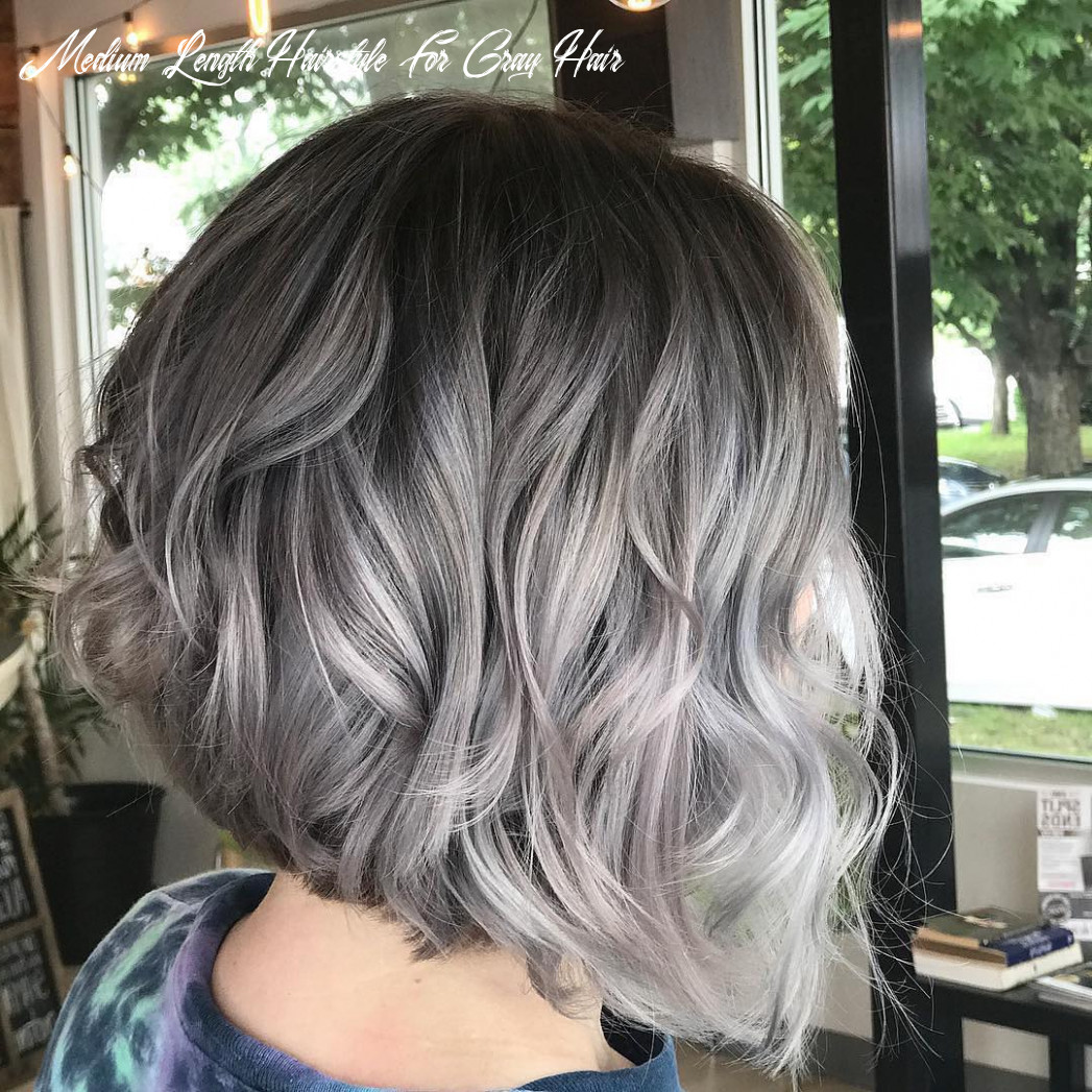Medium Haircuts For Gray Hair | Find your Perfect Hair Style