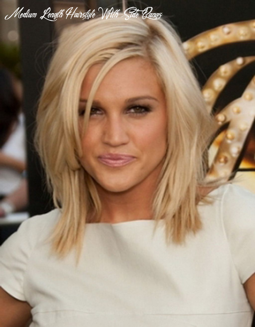 Medium hairstyle with side bangs   find your perfect hair style medium length hairstyle with side bangs