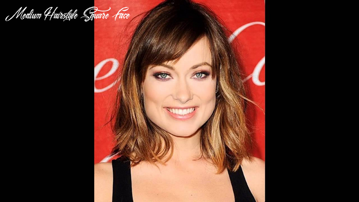 Medium hairstyles for a square face youtube medium hairstyle square face