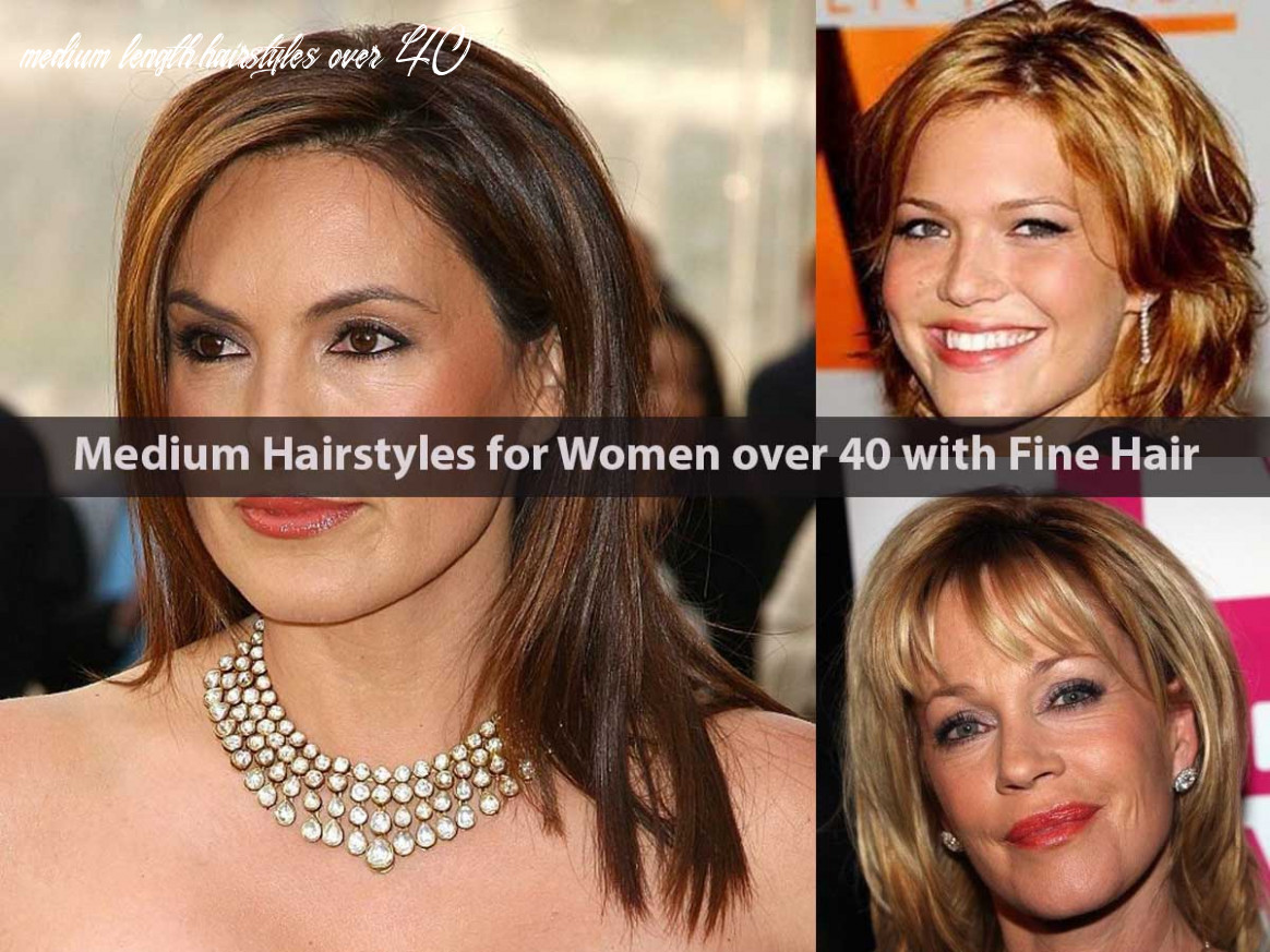 Medium hairstyles for women over 11 with fine hair hairstyle for