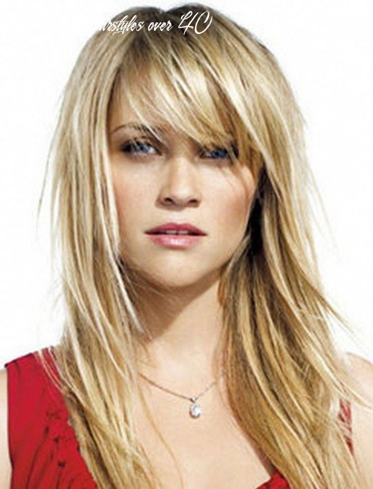 Medium hairstyles with bangs for women over 11 with fine hair