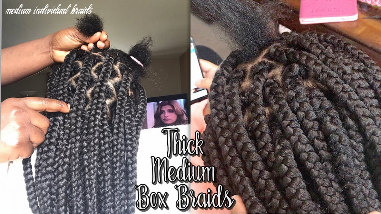 MEDIUM / JUMBO BOX BRAIDS TUTORIAL