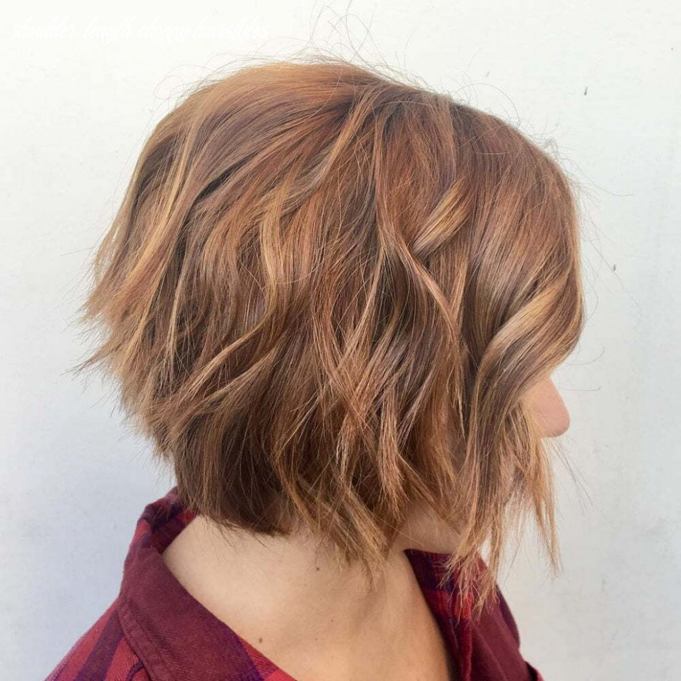 Medium Length Choppy Haircuts - Hairstyle 10 Girl Short