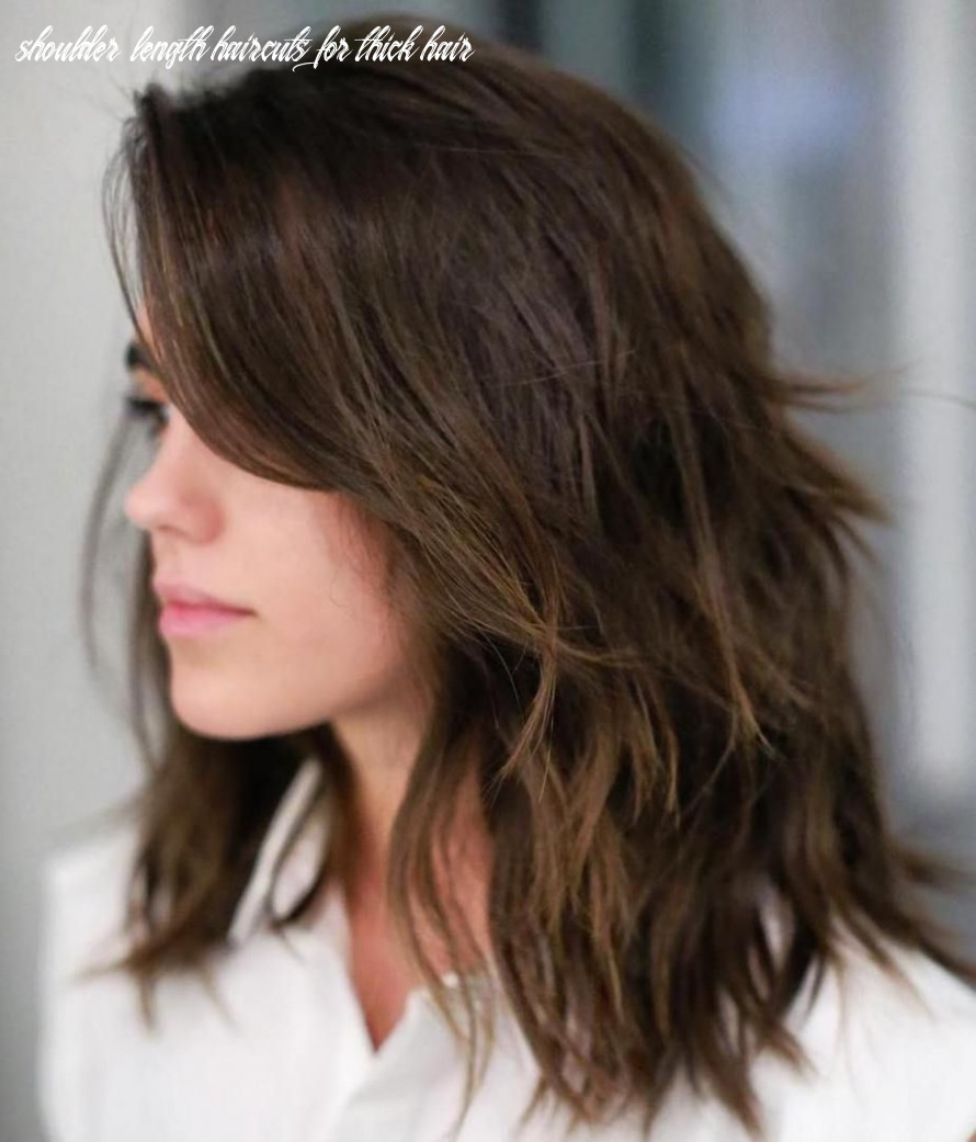Medium Length Haircut For Thick Hair | Find your Perfect Hair Style