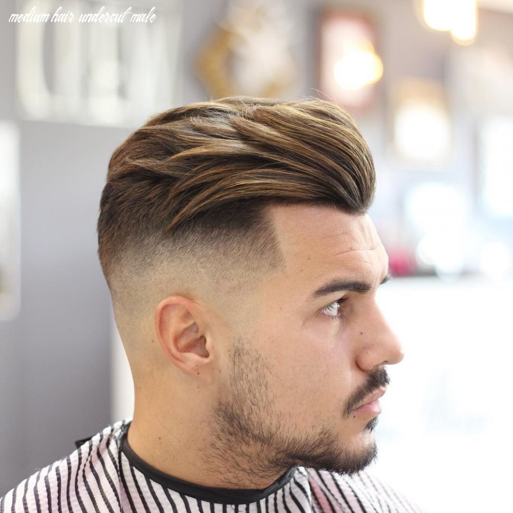 Medium length haircuts for men (10 styles) | undercut hairstyles
