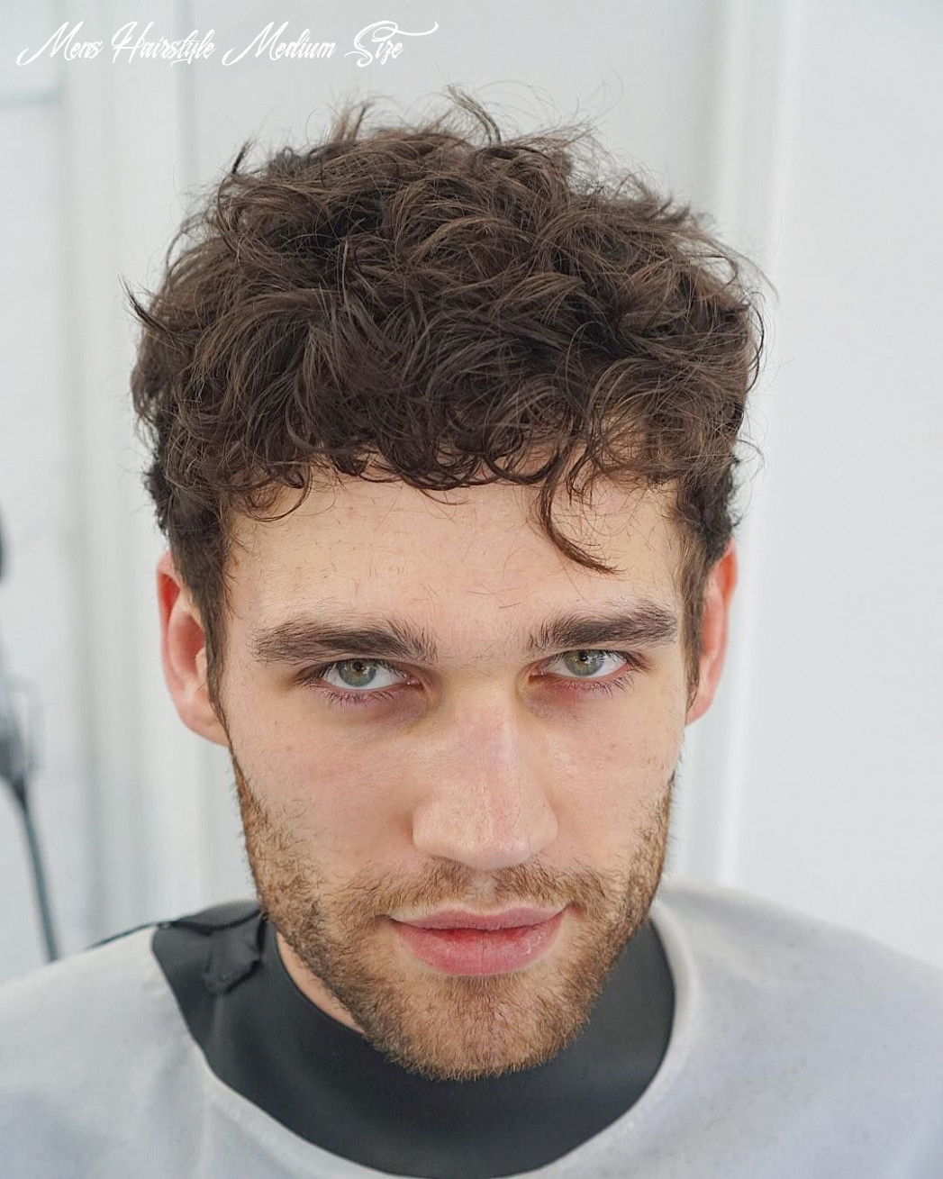 Medium length haircuts for men (9 styles)   haircuts for curly