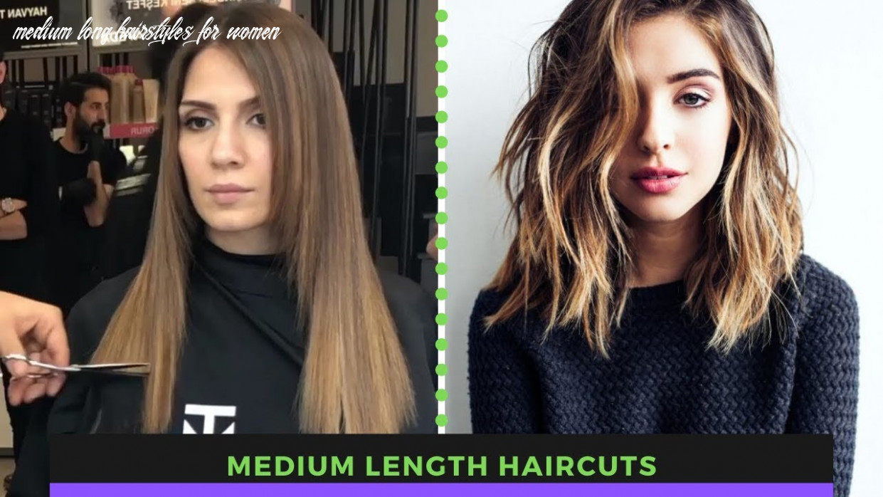 Medium length haircuts | shoulder length haircuts (amazing hair transformations by professionals) medium long hairstyles for women