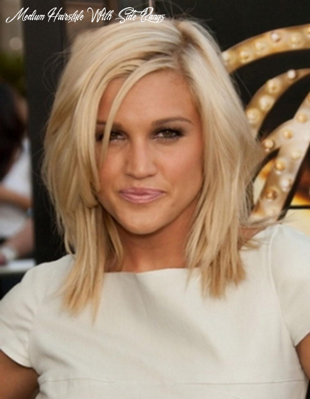 Medium length haircuts with side bangs | find your perfect hair style medium hairstyle with side bangs