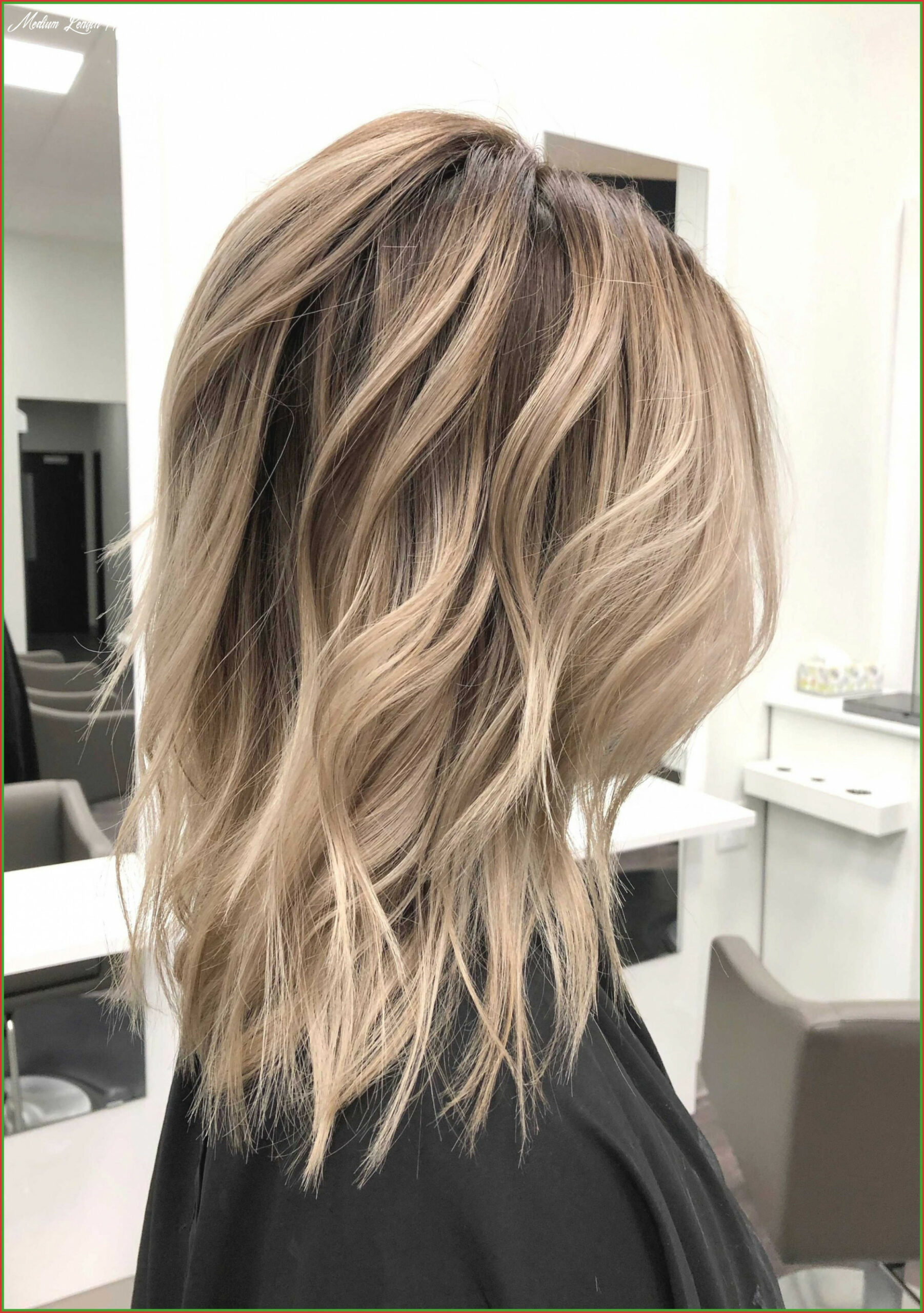 Medium length hairstyles for going out fresh hair color ideas for