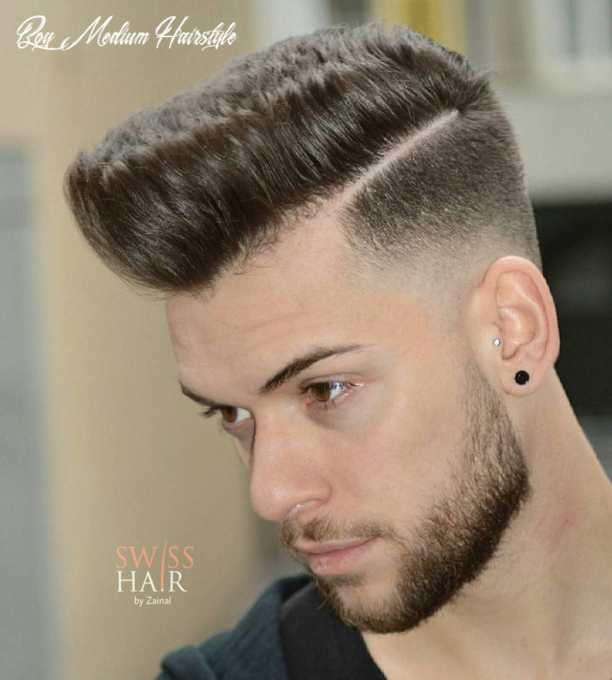 Medium Length Hairstyles For Men: 10 Styles For 10