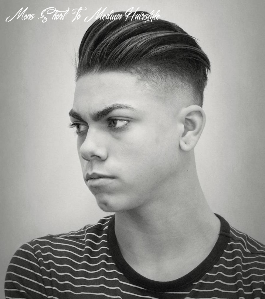 Medium length hairstyles for men: 9 styles for 9 mens short to medium hairstyle