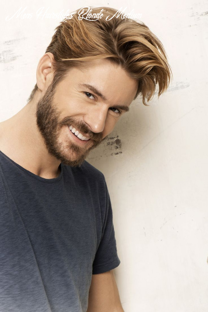Medium #length #hairstyles for #men one of the most popular hair