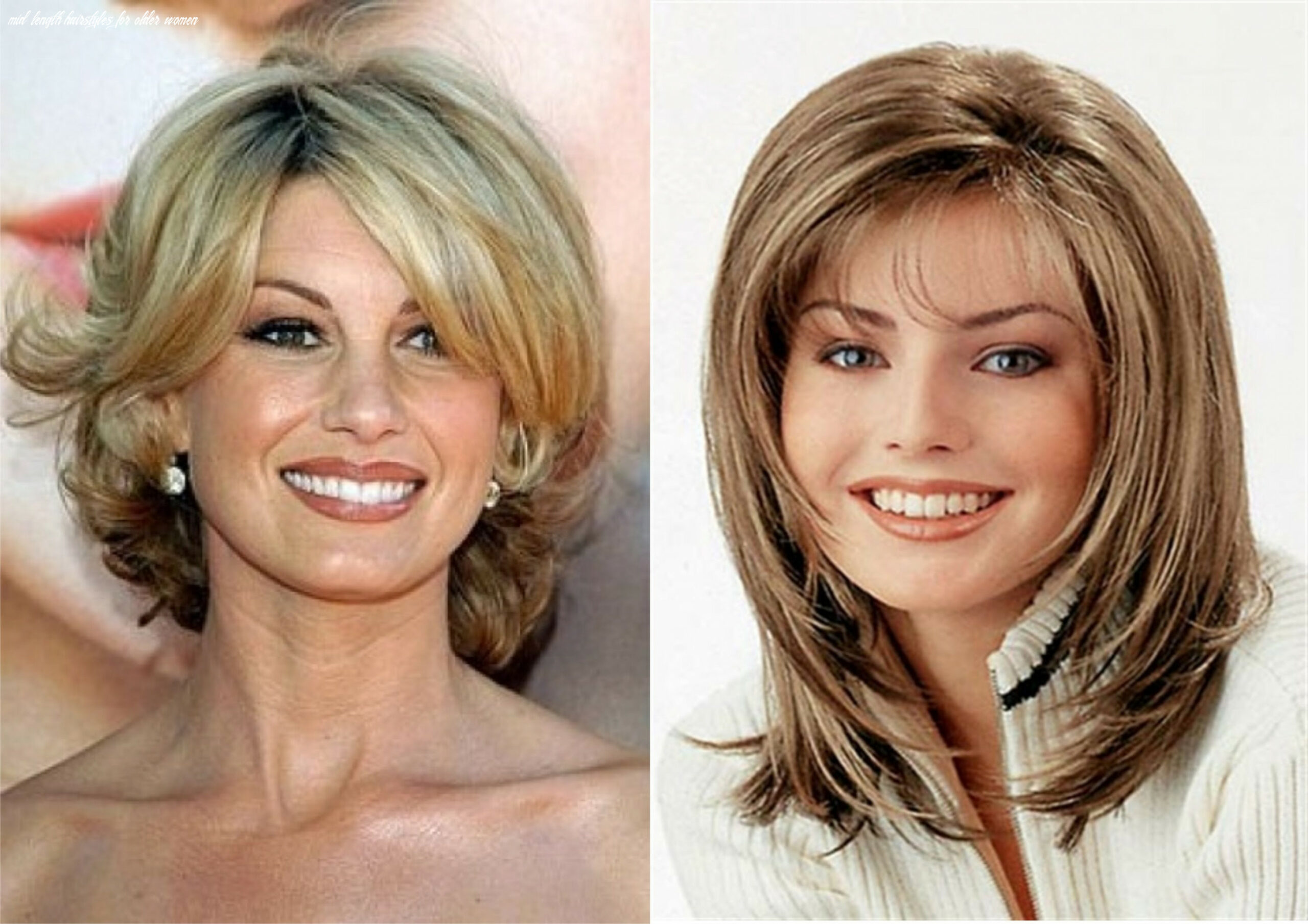 Medium length hairstyles for older women with fine hair | find