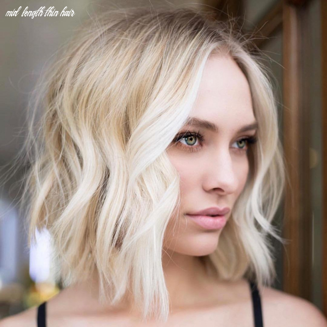 Medium length hairstyles for thin hair – voluflex mid length thin hair