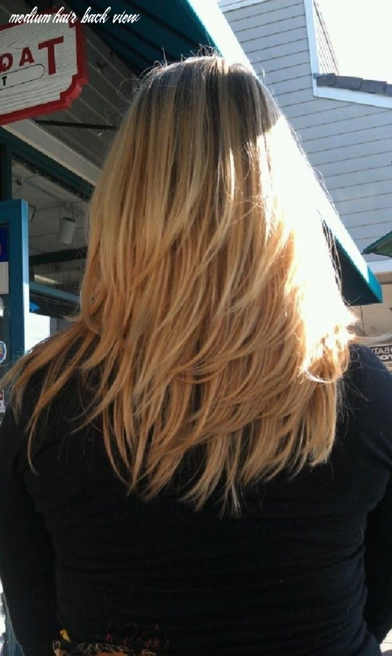 Medium length layered hairstyles back view 12 best hairstyles