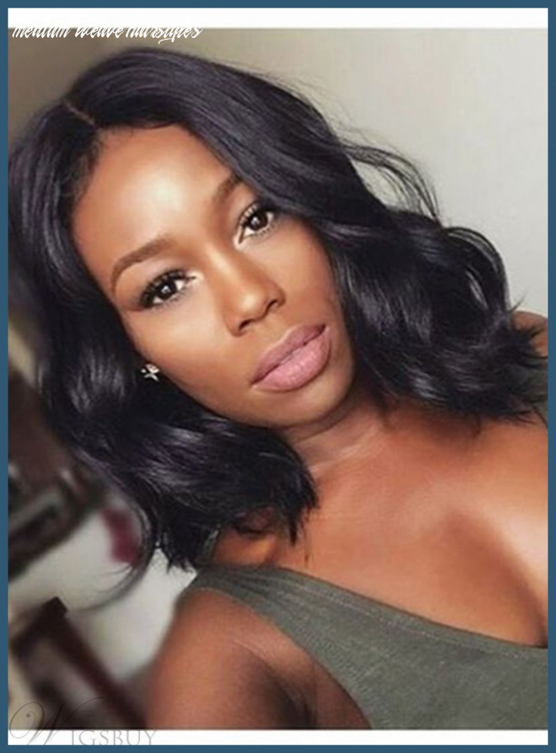Medium Length Weave Hairstyles Pictures   Find your Perfect Hair Style